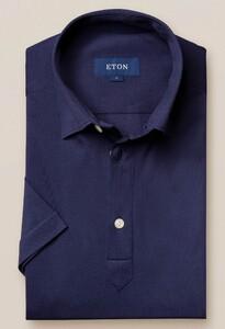 Eton Polo Popover Shirt Polo Dark Marine