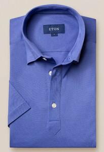 Eton Polo Popover Shirt Polo Lila