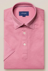 Eton Polo Popover Shirt Polo Roze