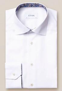Eton Signature Twill Uni Cutaway Overhemd Wit