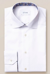Eton Signature Twill Uni Cutaway Shirt White