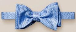Eton Silk Self Tied Bow Tie Strikje Teal