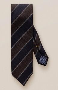Eton Striped Wool Das Bruin-Navy