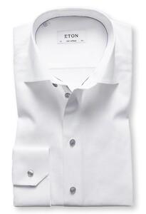 Eton Subtle Detail Uni Shirt Overhemd Wit