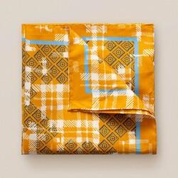 Eton Tweed Fantasy Pochet Oranje
