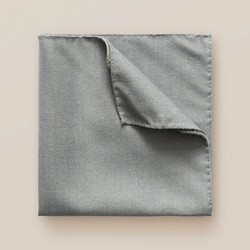 Eton Uni Wool Pochet Grijsblauw