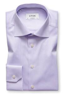 Eton Uni Cutaway Signature Twill Lila