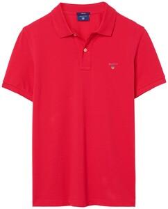 Gant Gant Piqué Polo Rose Red