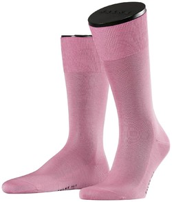 Falke No. 9 Socks Egyptian Karnak Cotton Soft Pink
