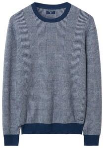 Gant Check Pattern Blue Melange