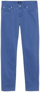 Gant Slim Straight Dusty Twill Jeans Hurricane Blue