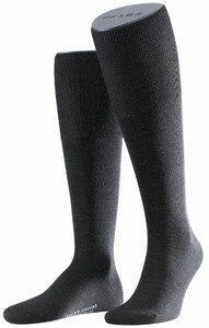 Falke Airport Kniekousen Knee-Highs Anthracite Grey
