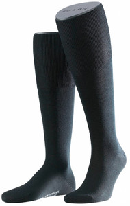 Falke Airport Kniekousen Knee-Highs Black