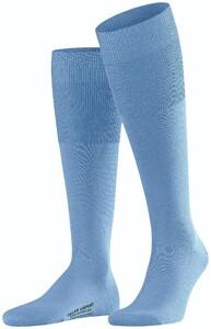 Falke Airport Kniekousen Knee-Highs Cornflower Blue