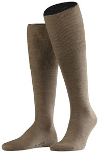 Falke Airport Kniekousen Knee-Highs Dark Sand