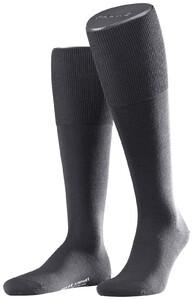 Falke Airport Kniekousen Knee-Highs Extra Dark Grey Melange