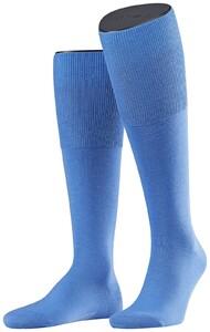 Falke Airport Kniekousen Knee-Highs Linen Blue