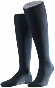 Falke Airport Kniekousen Knee-Highs Navy