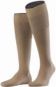 Falke Airport Kniekousen Knee-Highs Sand