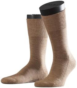 Falke Airport Plus Socks Sokken Donker Zand