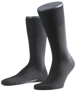 Falke Airport Sok Socks Anthracite Grey