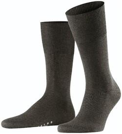 Falke Airport Sok Socks Brown Melange Dark