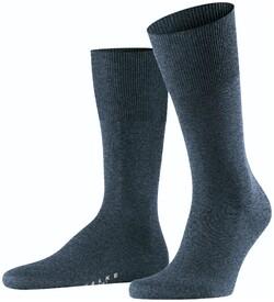 Falke Airport Sok Socks Dark Blue Melange