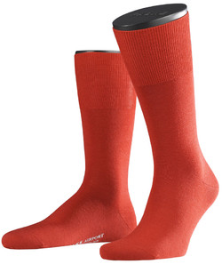 Falke Airport Sok Socks Red