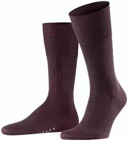 Falke Airport Sok Sokken Barolo Melange