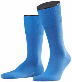 Falke Airport Sok Sokken Linen Blue