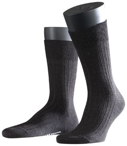 Falke Bristol Pure Socks Sokken Antraciet