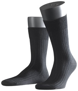 Falke Bristol Pure Socks Sokken Zwart