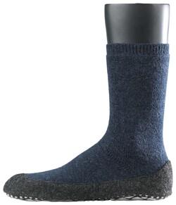 Falke Cosyshoe Socks Sokken Donker Blauw