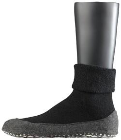 Falke Cosyshoe Socks Sokken Zwart
