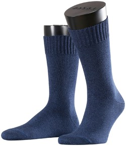 Falke Denim ID Socks Sokken Jeans Blauw