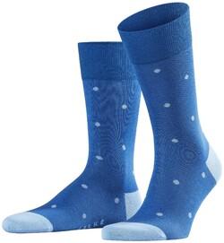 Falke Dotted Socks Sokken Paris Blue