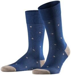 Falke Dotted Socks Sokken Royal Blue