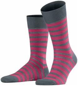 Falke Even Stripe Sock Sokken Asphalt