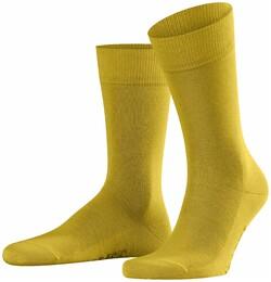 Falke Family Socks Sokken Diep Geel