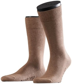 Falke Family Socks Sokken Donker Zand