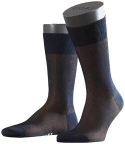 Falke Fine Shadow Sok Socks Navy-Brown