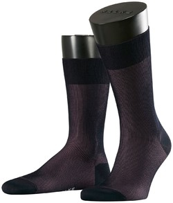 Falke Fine Shadow Sok Socks Navy Plum