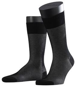 Falke Fine Shadow Sok Sokken Zwart