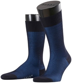 Falke Fine Shadow Wool Socks Navy