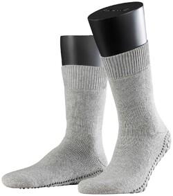 Falke Homepads Socks Sokken Licht Grijs