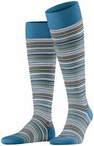 Falke Microblock Stripe Knee-Highs Frost