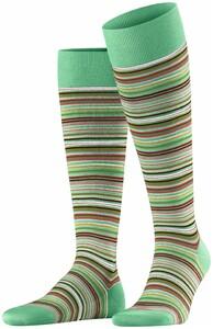 Falke Microblock Stripe Knee-Highs Neo Mint
