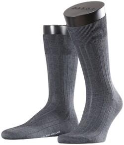 Falke Milano Socks Sokken Antraciet Melange