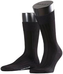 Falke Milano Socks Sokken Zwart