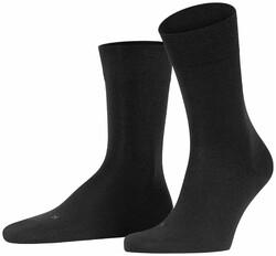Falke Natural Fibermix Sokken Zwart